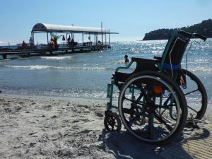 fauteuil face a la mer