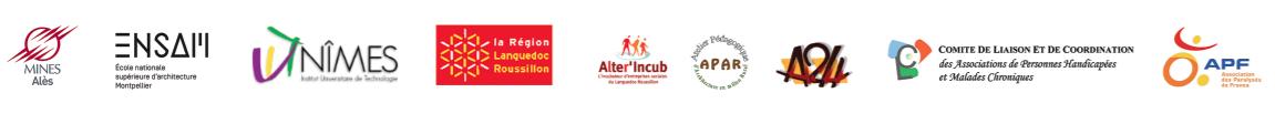 Logos des différents partenaires