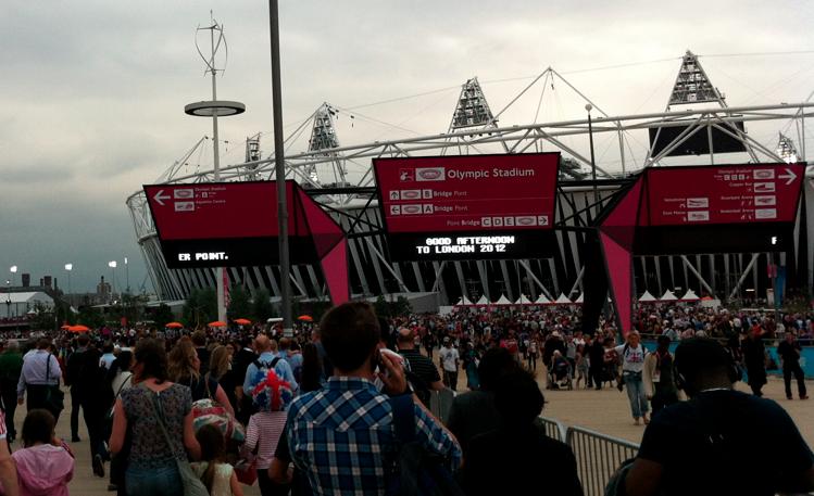 image du stade olympique paralympique